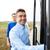 Gruppe · glücklich · männlich · Einschiffung · Reise · Bus - stock foto © dolgachov