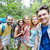 друзей · рюкзак · древесины · технологий · путешествия - Сток-фото © dolgachov