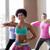 csoport · nők · testmozgás · tánc · stúdió · boldog - stock fotó © dolgachov