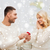 男 · 女性 · 婚約指輪 · クリスマス · 愛 · カップル - ストックフォト © dolgachov