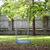 empty wooden swing hanging in summer garden stock photo © dolgachov
