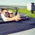 feliz · casal · carro · estrada - foto stock © dolgachov