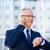 senior · empresário · tempo · negócio · pessoas - foto stock © dolgachov