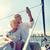 cruiseschip · paar · foto · zelfportret · romantische - stockfoto © dolgachov