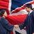 gelukkig · studenten · bachelors · groet · ander · onderwijs - stockfoto © dolgachov