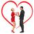 romantic couple with gift box stock photo © dolgachov