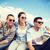 grup · gençler · asılı · dışarı · yaz · tatil - stok fotoğraf © dolgachov