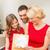 幸せ · 母親 · 子 · ギフトボックス · 休日 · 歳の誕生日 - ストックフォト © dolgachov