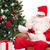 cadeaux · liste · table · en · bois · papier - photo stock © dolgachov