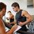 hombres · noria · gimnasio · deporte · fitness - foto stock © dolgachov