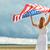 пригородный · американский · флаг · Flying · грузовика · звезды - Сток-фото © dolgachov