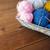 naalden · garen · paar · houten · tafel · steken - stockfoto © dolgachov