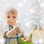 jogar · natal · luzes · família · cara - foto stock © dolgachov