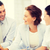 üzleti · csapat · megbeszélés · iroda · barátságos · üzlet · férfi - stock fotó © dolgachov