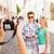 улыбаясь · пару · Солнцезащитные · очки · карта · город · лет - Сток-фото © dolgachov