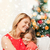 happy mother and daughter hugging at home stock photo © dolgachov