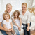 glimlachend · ouders · twee · nieuw · huis · onroerend - stockfoto © dolgachov