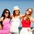 grup · kızlar · plaj · yaz · tatil · tatil - stok fotoğraf © dolgachov