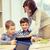 schrijven · boek · kinderen · kind · potlood - stockfoto © dolgachov