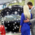 happy couple choosing car in auto show or salon stock photo © dolgachov