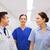 мужчины · врачи · говорить · больницу · коридор · клинике - Сток-фото © dolgachov