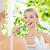 女性 · 歯ブラシ · 洗浄 · 歯 · バス - ストックフォト © dolgachov