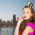 mulher · jovem · menina · adolescente · rosa · vestir · pessoas · férias - foto stock © dolgachov