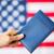 bandera · de · Estados · Unidos · pasaporte · ciudadanía · nacionalismo · azul - foto stock © dolgachov