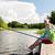 старший · человека · удочка · реке · семьи · поколение - Сток-фото © dolgachov