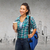 smiling student with bag and take away coffee cup stock photo © dolgachov