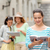 uśmiechnięty · nastolatki · miasta · kamery · turystyki · podróży - zdjęcia stock © dolgachov