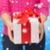 femminile · mani · blu · scatola · regalo · donna - foto d'archivio © dolgachov
