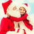 kız · neşeli · Noel · mutlu - stok fotoğraf © dolgachov