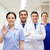 group of happy medics or doctors at hospital stock photo © dolgachov
