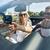 glücklich · Paar · Auto · Sommer · Straße · Reise - stock foto © dolgachov