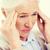 kobieta · cierpienie · głowy · domu · ból - zdjęcia stock © dolgachov