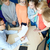 учитель · школьник · школу · компьютер · человека - Сток-фото © dolgachov