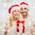 boldog · pár · karácsony · ajándékok · remek · ünnepek - stock fotó © dolgachov