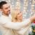 feliz · casal · natal · presentes - foto stock © dolgachov