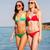 due · sorridere · giovani · donne · piedi · spiaggia - foto d'archivio © dolgachov