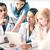 молодые · команда · группа · врачи · заседание · здравоохранения - Сток-фото © dolgachov