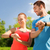 jonge · vrouw · sportkleding · charts · pols · sport · fitness - stockfoto © dolgachov