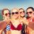 группа · молодые · улыбаясь · женщины · Летние · каникулы - Сток-фото © dolgachov