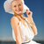 ファッション · ライフスタイル · 美人 · 帽子 · 夏 - ストックフォト © dolgachov
