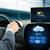 adam · sürücü · araba · hava · durumu · algılayıcı - stok fotoğraf © dolgachov
