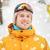 jeune · homme · snowboard · homme · vacances · vacances · couleur - photo stock © dolgachov