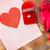 elmas · yüzük · güller · tebrik · kartı · sevmek · öneri - stok fotoğraf © dolgachov