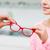 девушки · очки · оптика · магазине - Сток-фото © dolgachov