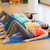 gelukkig · zwangere · vrouwen · gymnasium · zwangerschap - stockfoto © dolgachov