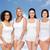 gruppo · felice · diverso · donne · bianco · amicizia - foto d'archivio © dolgachov